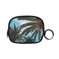 Tropical Palm Trees Coin Purse (1605)