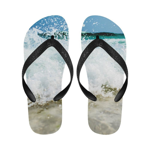 Tropical Summer Beach Flip Flops For Men/women (040)