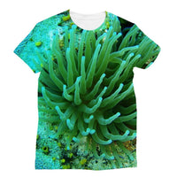 Underwater Coral Reef Sublimation T-Shirt Xs Apparel