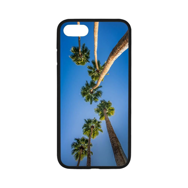 Upside Down California Los Angeles La Palms Iphone 7 4.7 Case Rubber