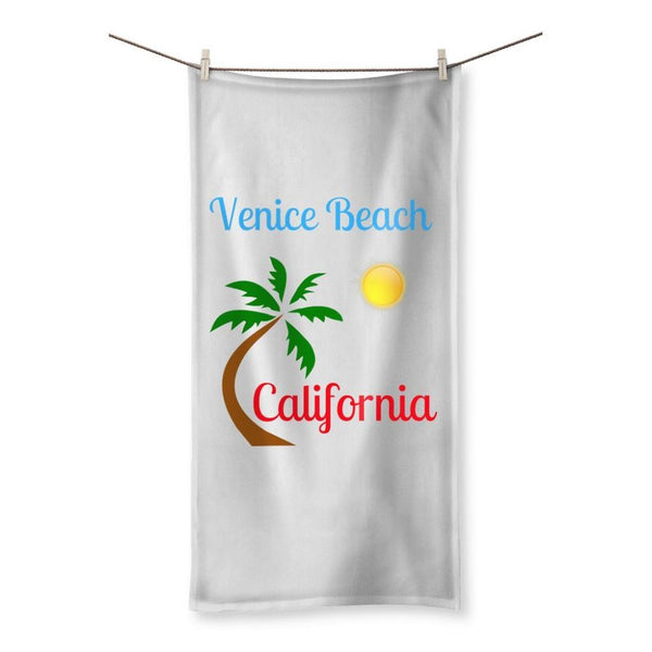 Venice Beach California Towel 19.7X39.4 Homeware
