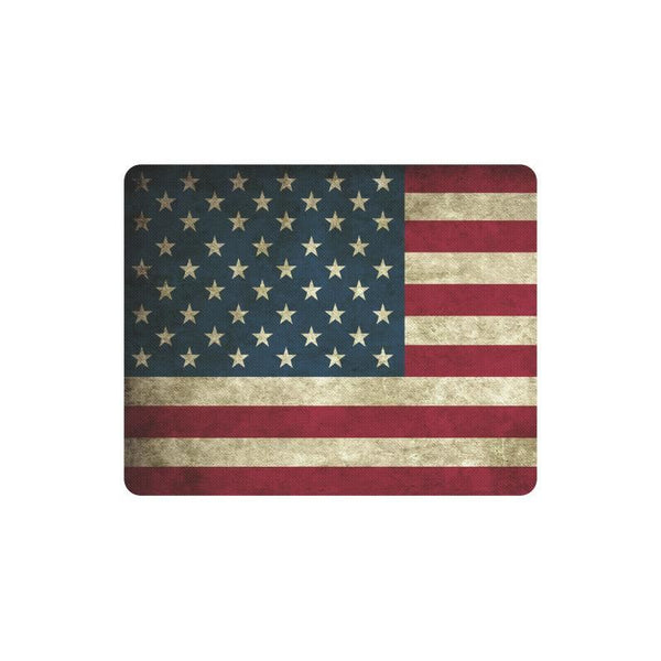 Vintage Old Grunge United States Of America Flag Rectangle Mousepad