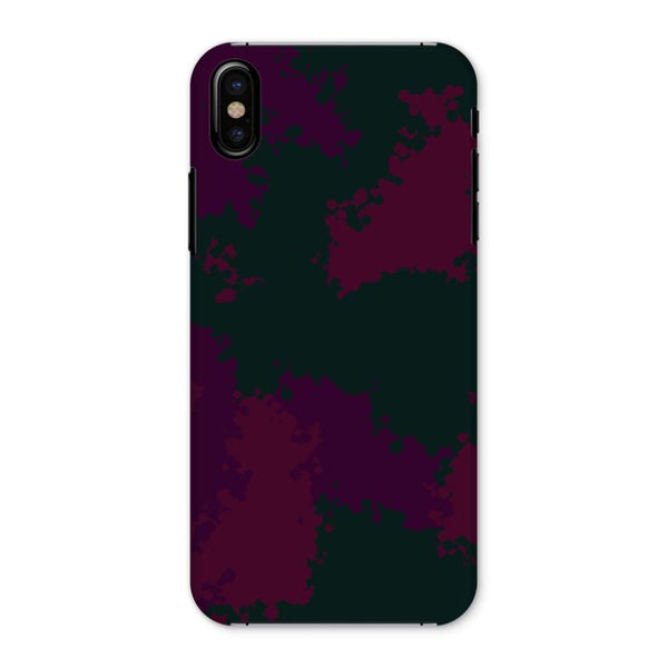 Violet Camo Pattern Phone Case Iphone X / Snap Gloss & Tablet Cases