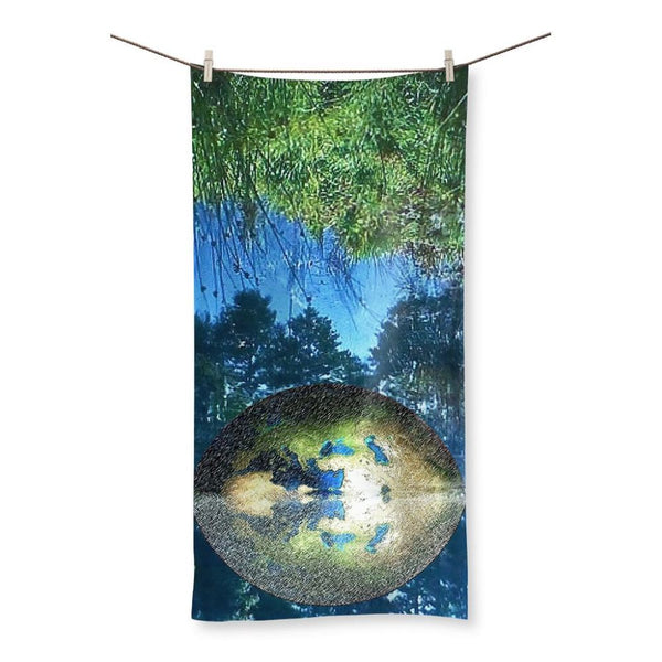 Water Pond Covered Beach Towel 19.7X39.4 Homeware