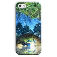 Water Pond Covered Phone Case Iphone Se / Snap Gloss & Tablet Cases