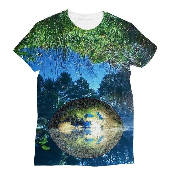 Water Pond Covered Sublimation T-Shirt S Apparel