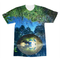 Water Pond Covered Sublimation T-Shirt Xs Apparel