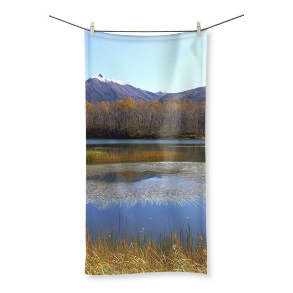 Wave In Lake Water Beach Towel 19.7X39.4 Homeware