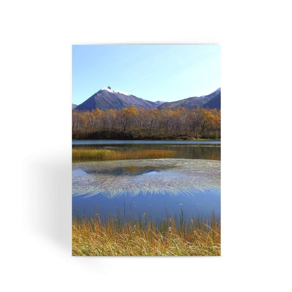 Wave In Lake Water Greeting Card 1 Prints