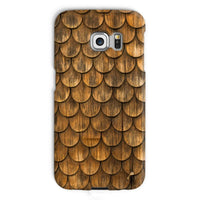 Weathered Wall Of Wooden Phone Case Galaxy S6 Edge / Snap Gloss & Tablet Cases