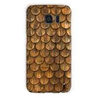 Weathered Wall Of Wooden Phone Case Galaxy S6 / Snap Gloss & Tablet Cases