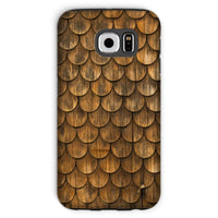 Weathered Wall Of Wooden Phone Case Galaxy S6 / Tough Gloss & Tablet Cases
