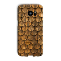 Weathered Wall Of Wooden Phone Case Galaxy S7 Edge / Snap Gloss & Tablet Cases