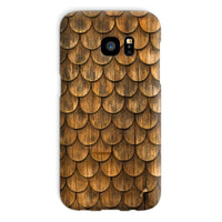 Weathered Wall Of Wooden Phone Case Galaxy S7 / Snap Gloss & Tablet Cases