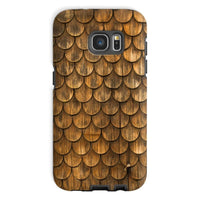 Weathered Wall Of Wooden Phone Case Galaxy S7 / Tough Gloss & Tablet Cases