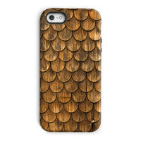 Weathered Wall Of Wooden Phone Case Iphone 5/5S / Tough Gloss & Tablet Cases