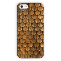 Weathered Wall Of Wooden Phone Case Iphone 5C / Snap Gloss & Tablet Cases