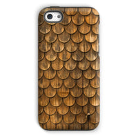 Weathered Wall Of Wooden Phone Case Iphone 5C / Tough Gloss & Tablet Cases