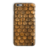 Weathered Wall Of Wooden Phone Case Iphone 6 Plus / Snap Gloss & Tablet Cases