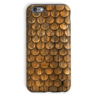 Weathered Wall Of Wooden Phone Case Iphone 6 Plus / Tough Gloss & Tablet Cases