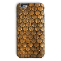 Weathered Wall Of Wooden Phone Case Iphone 6S Plus / Tough Gloss & Tablet Cases