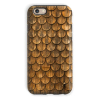 Weathered Wall Of Wooden Phone Case Iphone 6S / Tough Gloss & Tablet Cases