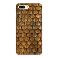 Weathered Wall Of Wooden Phone Case Iphone 7 Plus / Tough Gloss & Tablet Cases