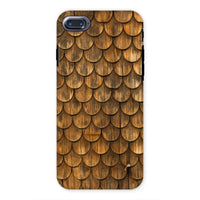 Weathered Wall Of Wooden Phone Case Iphone 7 / Tough Gloss & Tablet Cases