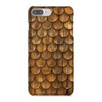 Weathered Wall Of Wooden Phone Case Iphone 8 Plus / Snap Gloss & Tablet Cases