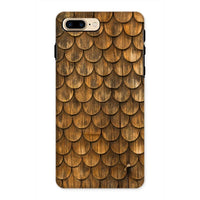 Weathered Wall Of Wooden Phone Case Iphone 8 Plus / Tough Gloss & Tablet Cases