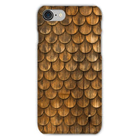 Weathered Wall Of Wooden Phone Case Iphone 8 / Snap Gloss & Tablet Cases