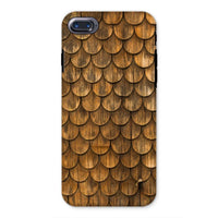 Weathered Wall Of Wooden Phone Case Iphone 8 / Tough Gloss & Tablet Cases