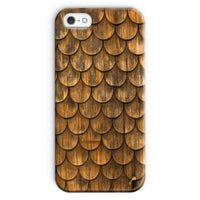 Weathered Wall Of Wooden Phone Case Iphone Se / Snap Gloss & Tablet Cases