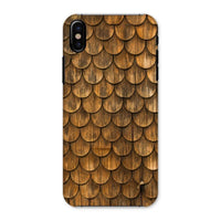 Weathered Wall Of Wooden Phone Case Iphone X / Snap Gloss & Tablet Cases