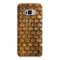 Weathered Wall Of Wooden Phone Case Samsung S8 Plus / Snap Gloss & Tablet Cases