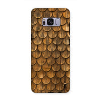 Weathered Wall Of Wooden Phone Case Samsung S8 Plus / Tough Gloss & Tablet Cases