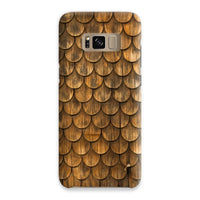 Weathered Wall Of Wooden Phone Case Samsung S8 / Snap Gloss & Tablet Cases