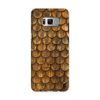 Weathered Wall Of Wooden Phone Case Samsung S8 / Tough Gloss & Tablet Cases
