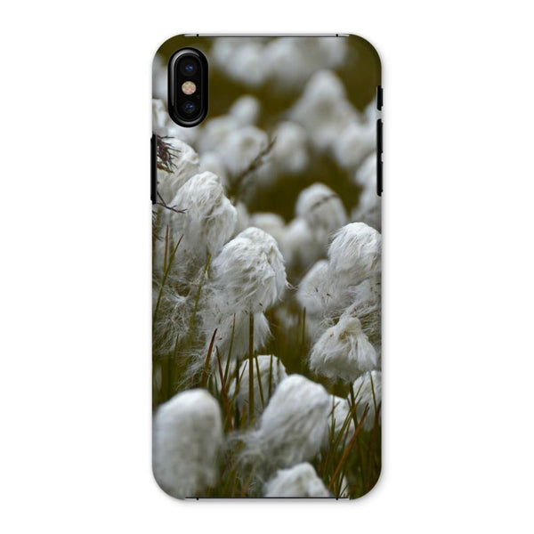 Wild Cotton In The Field Phone Case Iphone X / Snap Gloss & Tablet Cases