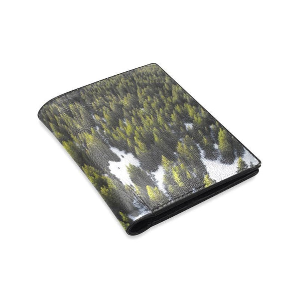 Winter Forest Mens Leather Wallet (1612)