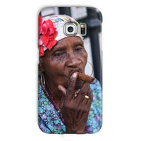 Women Smoking Cuban Cigars Phone Case Galaxy S6 Edge / Snap Gloss & Tablet Cases