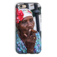 Women Smoking Cuban Cigars Phone Case Iphone 6 / Tough Gloss & Tablet Cases