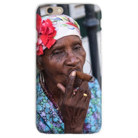 Women Smoking Cuban Cigars Phone Case Iphone 6S / Snap Gloss & Tablet Cases