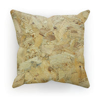 Wood Background Texture Cushion Faux Suede / 18X18 Homeware