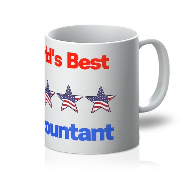 Worlds Best Accountant Mug 11Oz Homeware