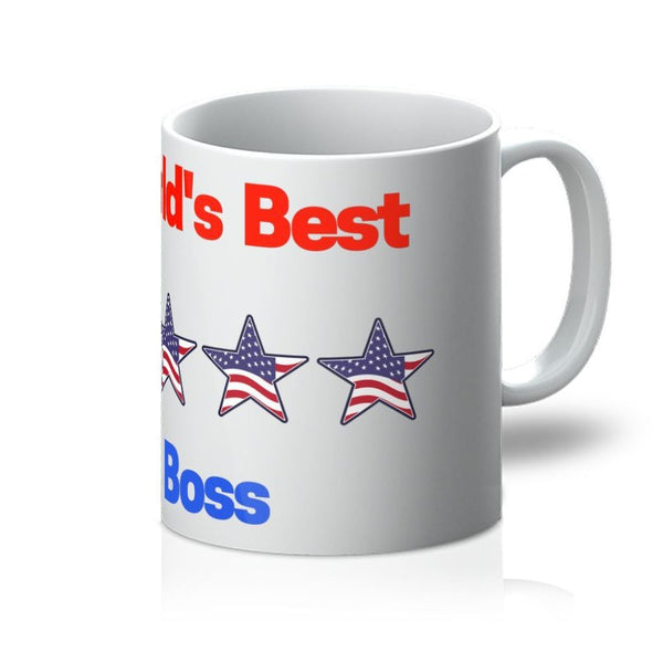 Worlds Best Boss Mug 11Oz Homeware