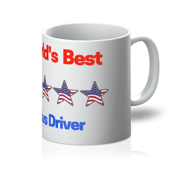 Worlds Best Bus Driver Mug 11Oz Homeware