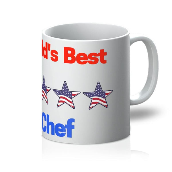 Worlds Best Chef Mug 11Oz Homeware