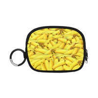Yellow Bananas Fruit Pattern Coin Purse (1605)