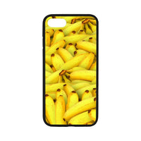 Yellow Bananas Fruit Pattern Iphone 7 4.7 Case Rubber